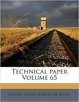 Technical paper Volume 65