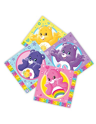 Care Bears Luncheon Napkins 33cm 2Ply - Pack of 16