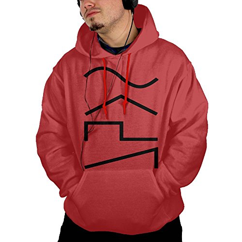 ZhiqianDF Men's Synth Waves Funny Baseball Red Sweater XL With - Okc Outlet Shops