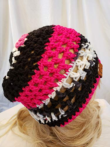 Crochet Skull Hat Made By Gentree On Amazon Available In Kuwait