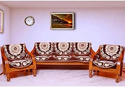 LatestHomeStore PolyCotton HomeDecorative Sofa Cover (set of 6 pcs)