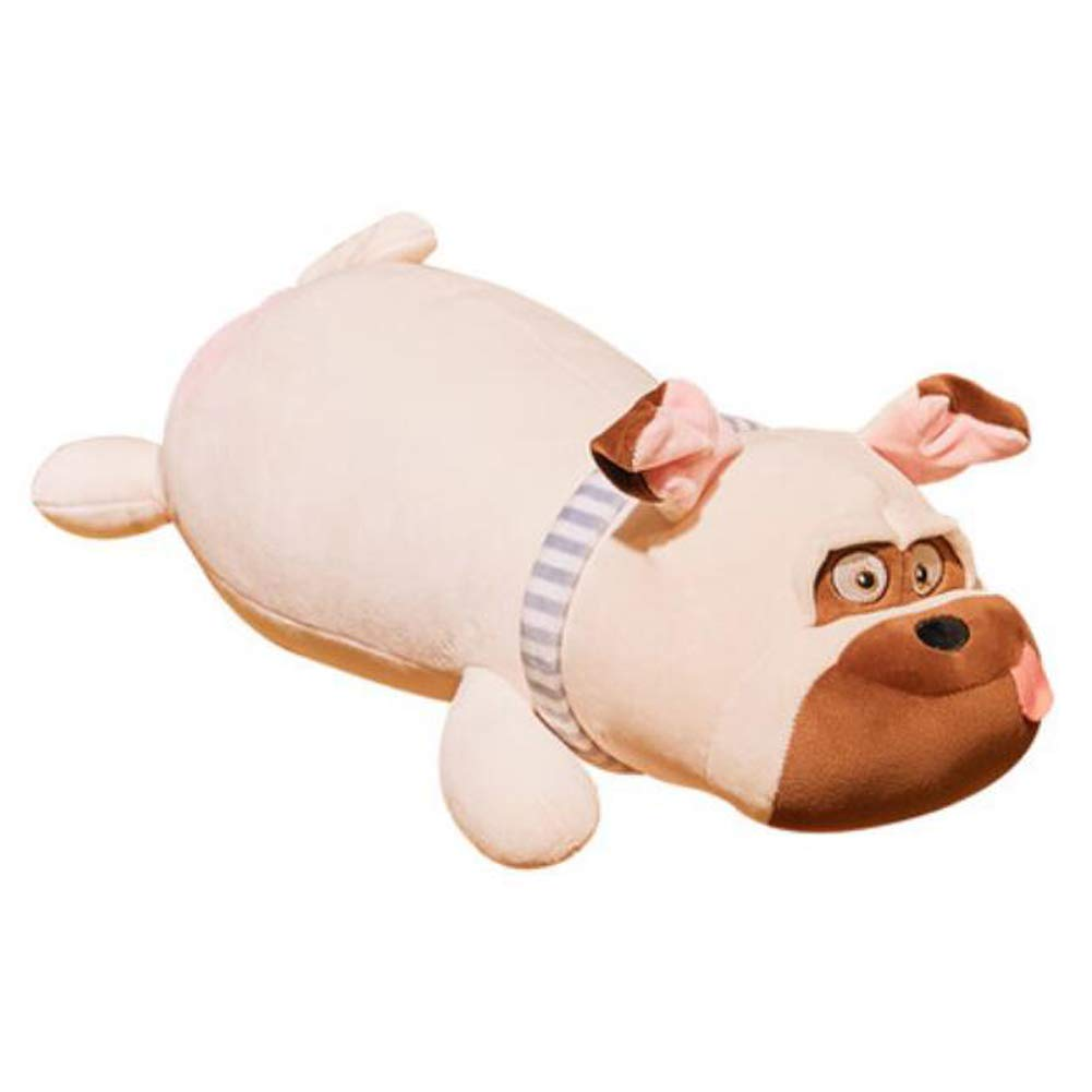 IIWOJ Niedliche Plüschpuppe Simulation Hund Kissen-Geschenk für Kinder Urlaub,Beige,65cm