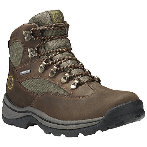 Timberland Mens Chocorua Trail Mid Waterproof Hiking Brown Work Boot - 11 M
