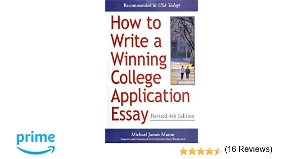 On writing the college application essay harry bauld epub