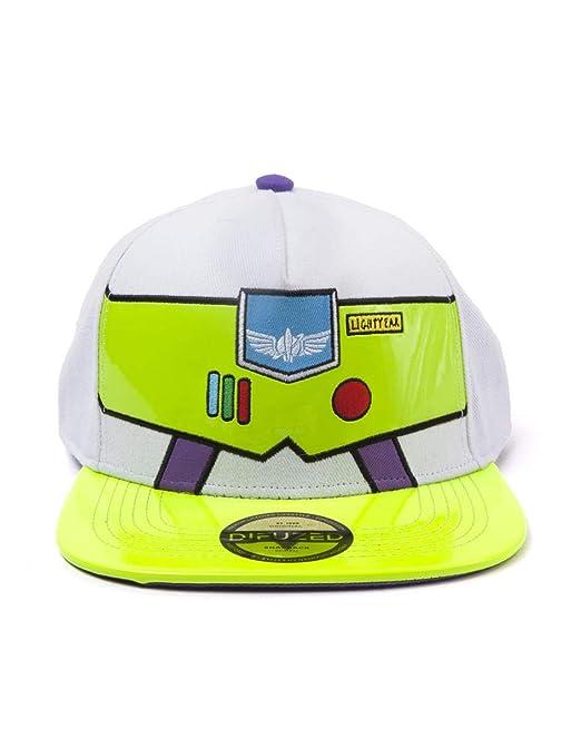 Toy Story-Buzz Lightyear Snapback White