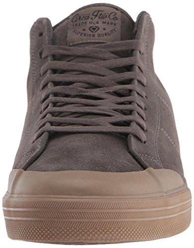 C1rca Hommes Fremont Mi Faible Pro Durable Léger Chaussure De Skate Charbon De Bois / Gomme