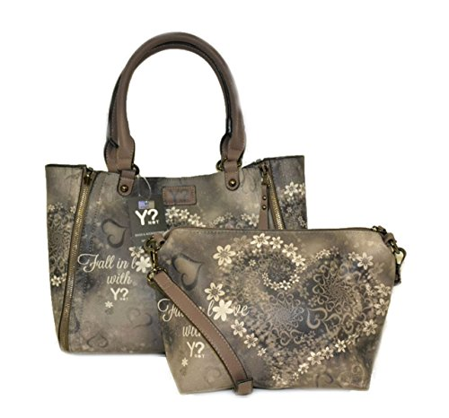 Borsa Y Not reversibile art.k47 taupe