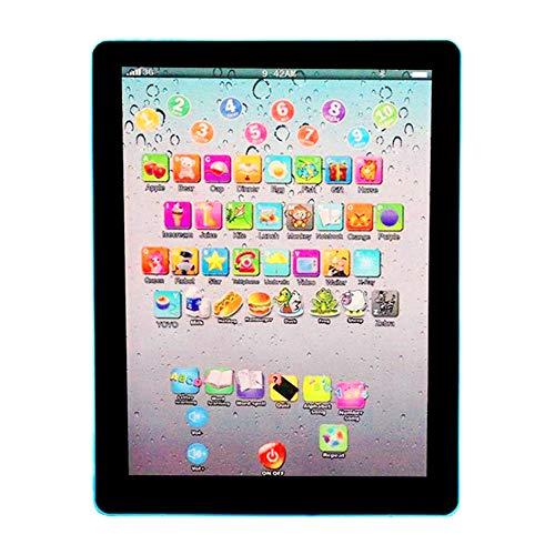Hihey Tablet Touchscreen Touchscreen Tablet Pad der frühen Bildungs Kinder Englisch Lernmaschinen-Schulbücher MediaPad…