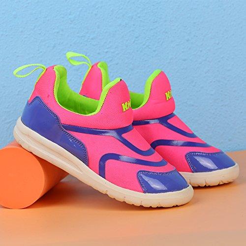VILOCY Babyschuhe Mädchen Jungen Lauflernschuhe Sneaker Trainer Schuhe Violett EU31
