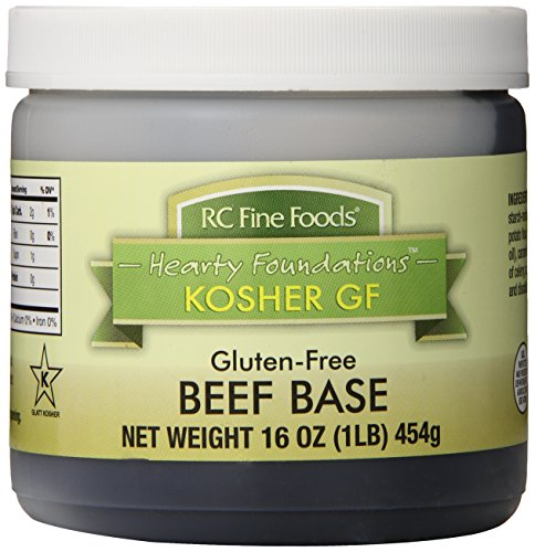 RC Fine Foods Hearty Foundations Kosher Gluten-Free Beef Base, 1 Pound