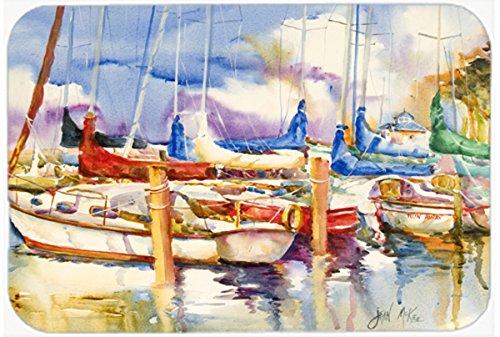 Caroline 's Treasures Run Away Sailboatsマウスパッド/ホットパッド/五徳( jmk1072mp )   B00W3XBWWW