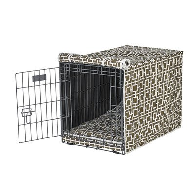 Luxury Crate Cover in Courtyard Taupe (XL - 28 in. L x 42 in. W x 30 in. H)