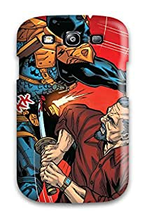 Cute Appearance Cover/tpu FCFYuvk2573Ikcvg Deathstroke Case For Galaxy S3