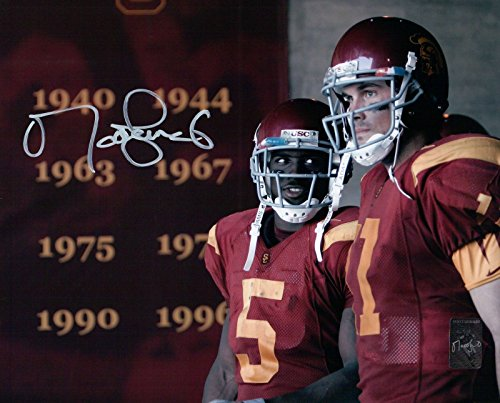 Matt Leinart Signed 8X10 Photo Autograph USC Trojans Close-Up w/Bush Auto w/COA (Trojans Memorabilia Usc)
