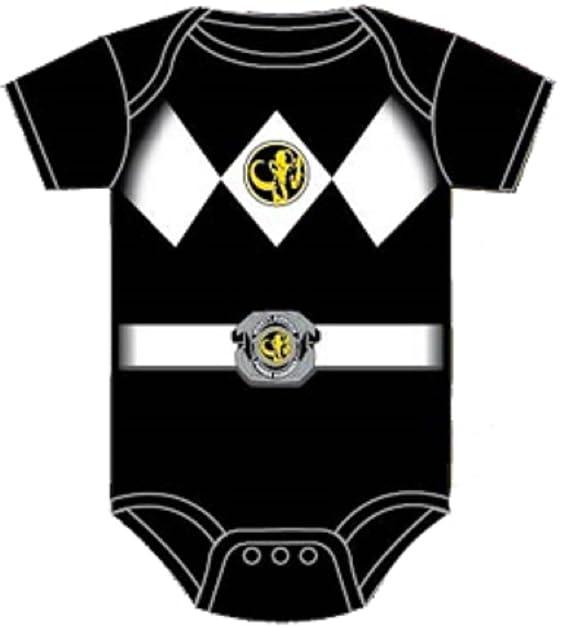 5ee6d67ec Amazon.com: Power Rangers Infant One Piece Costume Uniform Snapsuit Romper:  Clothing