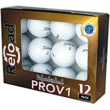 Reload Recycled Golf Balls (12-Pack) Titleist PROV1 Refurbished Golf Balls