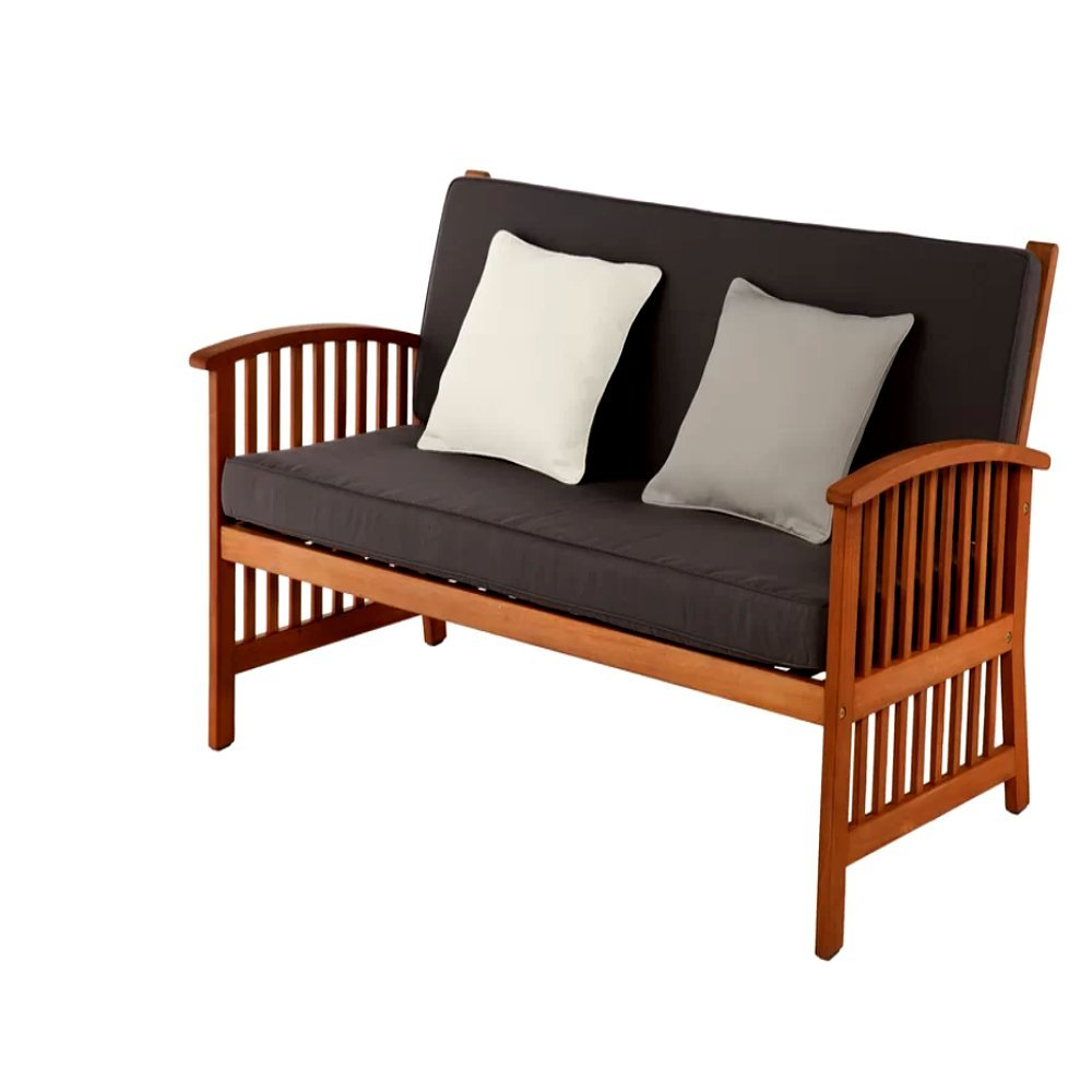 Amazon Com Patio Furniture Loveseat With Cushions Patio Loveseat
