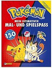 Pokémon: Mein ultimativer Spiel- und Malspaß: Mit mehr als 150 Stickern!