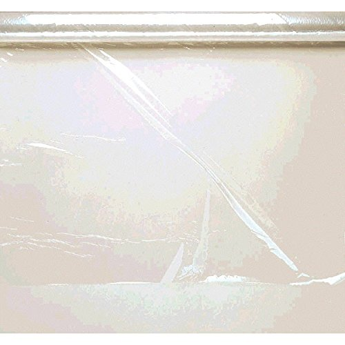 Functional Transparent Cellophane Wrap Party Gift Supplies, Clear, 16' x 30