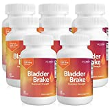 Bladder Brake with Pumpkin Seed and Soy Seed Extract to Stop Leaks and Decrease Bathroom Breaks and Accidents - 60 Capsules Per Bottles