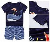 Unisex Baby Boys Girls 2-Piece Cotton Pajama