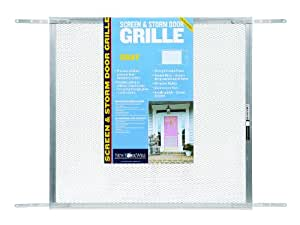 New York Wire 71439 Mesh Door Grill, 24-Inch by 36-Inch, Mill