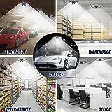 LED Garage Lights, 60W Deformable Garage Ceiling