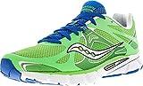 Cheap Saucony Women's Mirage 4 Running Shoe,Green/Blue,7.5 M US