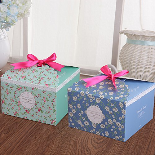 Chilly Gift Boxes Set Of 12 Decorative Treats Boxes Cake