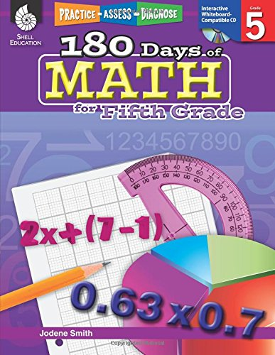 180 Days of Math for Fifth Grade (180 Days of Practice)