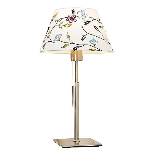 HOSTWEK Lámpara de Mesa de Estilo Europeo, Dormitorio, lámpara de ...