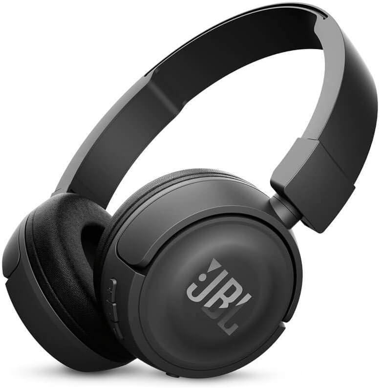 JBL T450BTBLK / JBLT450BTBLK / JBLT450BTBLK / T450BT Black T450BT Wireless On-Ear Headphones - Black