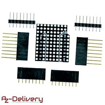AZDelivery Prototyping Shield for D1 Mini NodeMCU ESP8266 including E-Book!