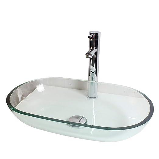 SLTWX Vasque Vasque Vasque Vasque + kit de robinets, Vasque ...