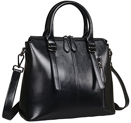 Black Leather Handbags - 2