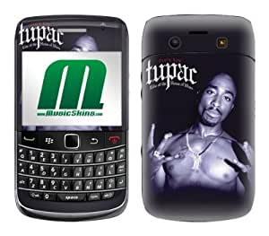 MusicSkins, MS-T10043, Tupac - House of Blues, BlackBerry Bold (9700), Skin