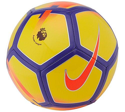 Viola Pitch 4 League Con Bambini Calcio Logo nbsp;12 Giallo Nike Unisex Inglese Per Premier Del Stagione Fra Nike Colore E Compresa Ragazzi nbsp;e Misura 2018 nbsp;anni Campionato Di Età 6 Pallone aUPUAE