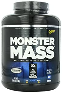 CytoSport Monster Mass, Cookies and Cream, 5.95 Pound