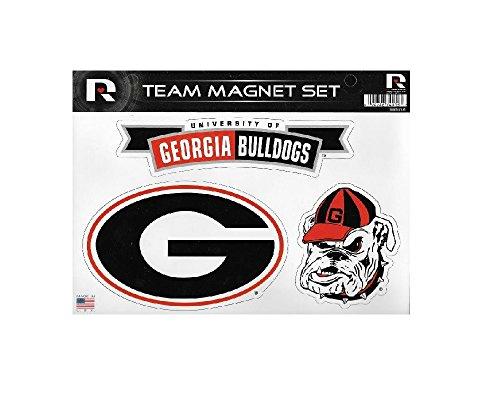 - Rico Industries NCAA Georgia Bulldogs Die Cut Team Magnet Set Sheet
