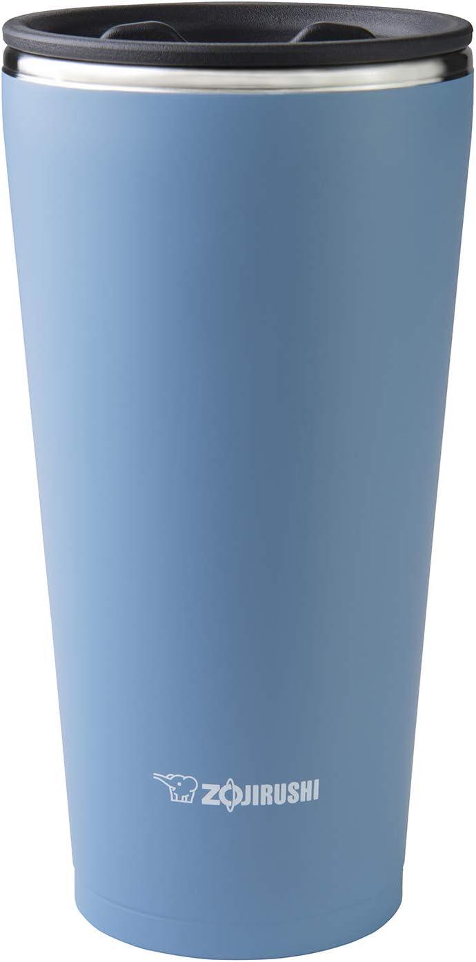 Zojirushi SX-FSE45AJ, Stainless Vacuum Insulated Tumbler, 15-Ounce, Blue Gray