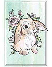 Bunny Notebook - Bunny Journal: with BUNNIES INSIDE! This 6x9 inch Rabbit Journal / Rabbit notebook has lined pages for a bunny mom or dad to write in!