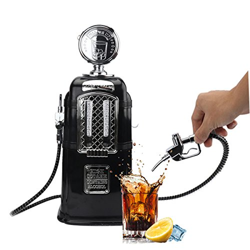 SYS Double Guns Liquor Pump Gas Station Beer Dispenser Alcohol Liquid Soft Drink Beverage Dispenser Machine Bar Butler Tools (Dispenser Home Beer)