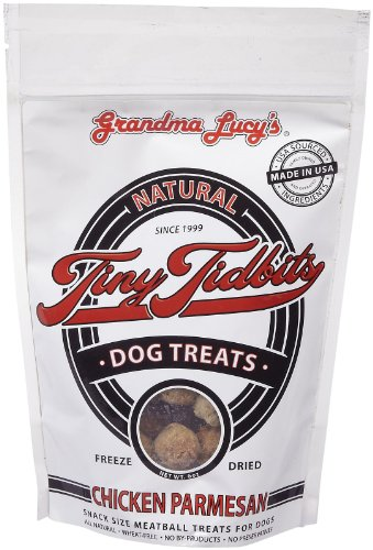 GRANDMA LUCY'S 844135 Dried Tidbit Chicken Parm Treat for Dogs, 7-Ounce, My Pet Supplies