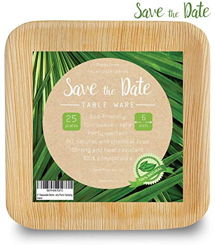 6 Inch Bamboo - [25 Pcs] 6