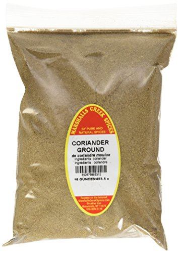 Marshalls Creek Spices Refill Pouch Coriander Ground Seasoning, XL, 16 Ounce by Marshall's Creek Spices