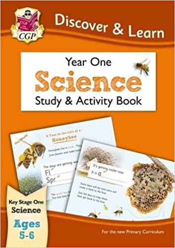 Book KS1 Discover & Learn: Science - Study & Activity Book, Year 1