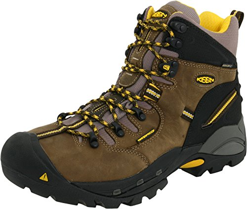 KEEN Utility Men's Pittsburgh Steel Toe Work Boot,Slate Black,13 D  US