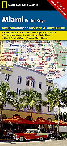 Miami and the Keys (National Geographic Destination City - Keys Map