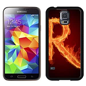 NEW DIY Unique Designed Samsung Galaxy S5 I9600 Phone Case For Burning Letter R Phone Case Cover