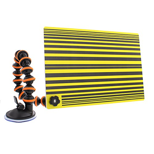 Board Line (ABN Car Auto Paintless Dent Repair PDR Line Reflector Board with Adjustable Suction Cup Arm for Automotive Dents Removal)